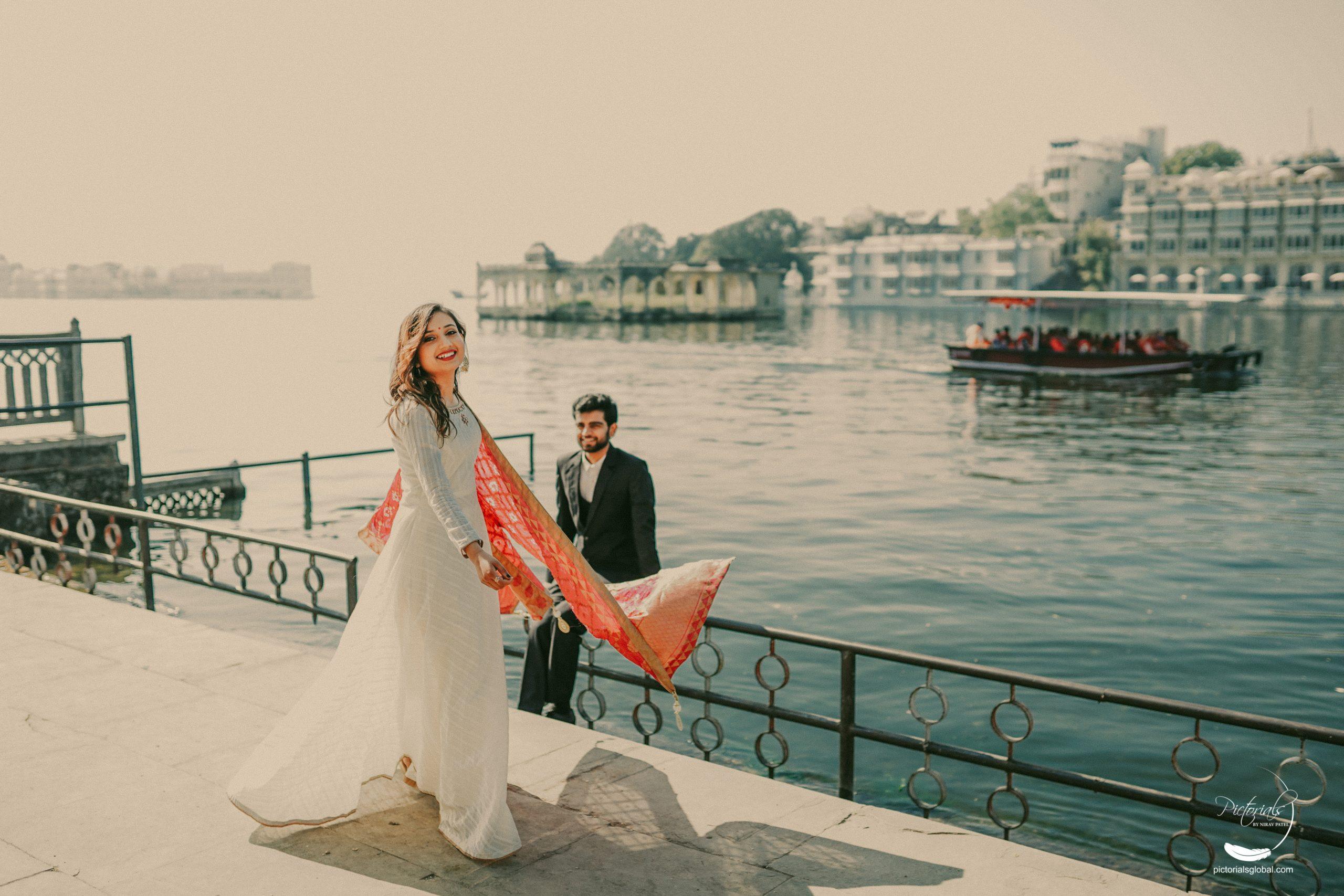 Pre Wedding Photoshoot in Udaipur by Nirav Patel